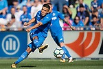 Faycal Fajr of Getafe CF in action during the La Liga 2017-18 match between Getafe CF and Real Madrid at Coliseum Alfonso Perez on 14 October 2017 in Getafe, Spain. Photo by Diego Gonzalez / Power Sport Images