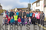 Walkers line up at the start of the Castleisland Good Friday walk in aid of the Kerry Hospice Foundation