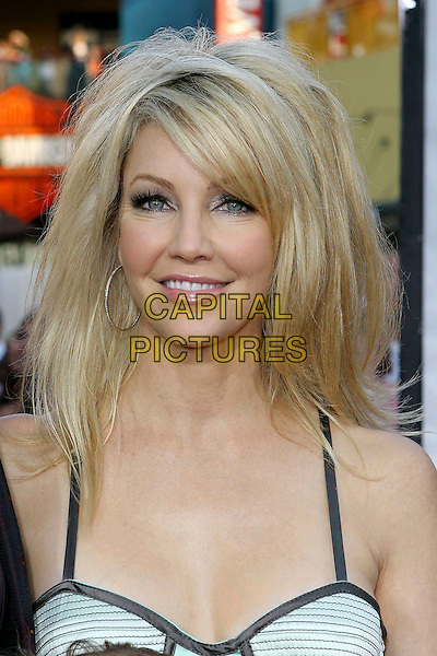 "HEATHER LOCKLEAR.""The Perfect Man"" World Premiere held at the Universal Studios Cinema at Universal CityWalk, Universal City, California..June 13th, 2005.Photo credit: Jacqui Wong/AdMedia.headshot portrait hoop earrings.www.capitalpictures.com.sales@capitalpictures.com.© Capital Pictures."