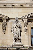 Jacques-Auguste De Thou, 1553 - 1617, French historian famed for his work Historia sui temporis written in Latin, Louvre Museum, Paris, France Picture by Manuel Cohen