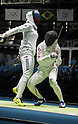 Nozomi Sato (JPN), AUGUST 6, 2016 - Fencing : Women's Epee Individual 2nd round at Carioca Arena 3 during the Rio 2016 Olympic Games in Rio de Janeiro, Brazil. (Photo by Enrico Calderoni/AFLO SPORT)