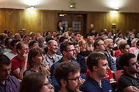 The audience at The Boring Conference at Conway Hall listening to speakers.The Boring Conference is a one-day celebration of the mundane, the ordinary, the obvious and the overlooked; subjects often considered trivial and pointless, but when examined more closely reveal themselves to be deeply fascinating.<br /> <br /> It was created in response to the cancellation of the 2010 Interesting Conference. It seemed like the obvious thing to do.