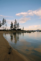 Sand Harbor in Lake Tahoe - Nevada State Park in Washoe County, Nevada is one of the nicest beaches on Lake Tahoe.