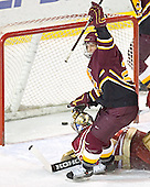 Adam Miller, Peter Mannino - The Ferris State Bulldogs defeated the University of Denver Pioneers 3-2 in the Denver Cup consolation game on Saturday, December 31, 2005, at Magness Arena in Denver, Colorado.