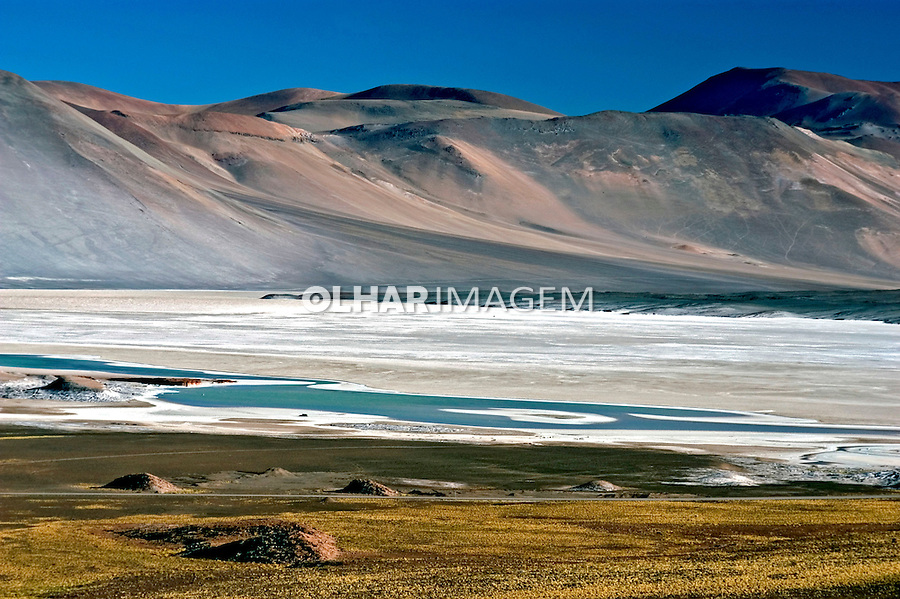 Salar no Deserto do Atacama. Chile. 2004. Foto de Maristela Colucci.