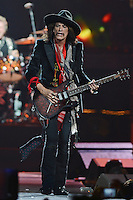SUNRISE, FL - DECEMBER 09:  Joe Perry of Aerosmith performs at the BB&T Center on December 9, 2012 in Miami.  Credit: mpi04/MediaPunch Inc.