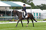 Emily Parker riding Treefers during the dressage phase of the 2012 Land Rover Burghley Horse Trials in Stamford, Lincolnshire