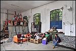 l'Associazione Urbe al lavoro negli spazi di BUNKER, Il nuovo progetto nell'ex stabilimento SICMA Torino. Settembre 2012