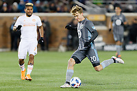 Minneapolis, MN - Saturday March 31, 2018: Minnesota United FC played Atlanta United FC in a Major League Soccer (MLS) game at TCF Bank stadium. Minnesota United 0, Atlanta United 1