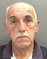 "Pictured: Peter Griffiths<br /> Re: Husband and wife Peter and Avril Griffiths who raped and indecently assaulted young girls have been jailed by Cardiff Crown Court in Wales, UK.<br /> Peter Griffiths, 65, was sentenced to 21 years and Avril Griffiths, 61, was sentenced to 15 years.<br /> The court heard the couple, who were dubbed ""the Fred and Rose West"" of their Barry estate in the Vale of Glamorgan, south Wales, abused girls on a boat and at home in the 1980s and 1990s."