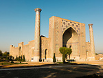 Ulugh Beg madrasah, Registan ensemble, Samarkand.