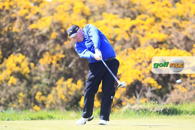 Brendan McGovern (Headfort Golf Club)<br /> playing in the Etihad Airways PGA Sprint at Seapoint Golf club.<br /> Picture:  Fran Caffrey www.golffile.ie