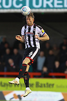 Danny Collins of Grimsby Town during Crawley Town vs Grimsby Town, Sky Bet EFL League 2 Football at Broadfield Stadium on 9th March 2019