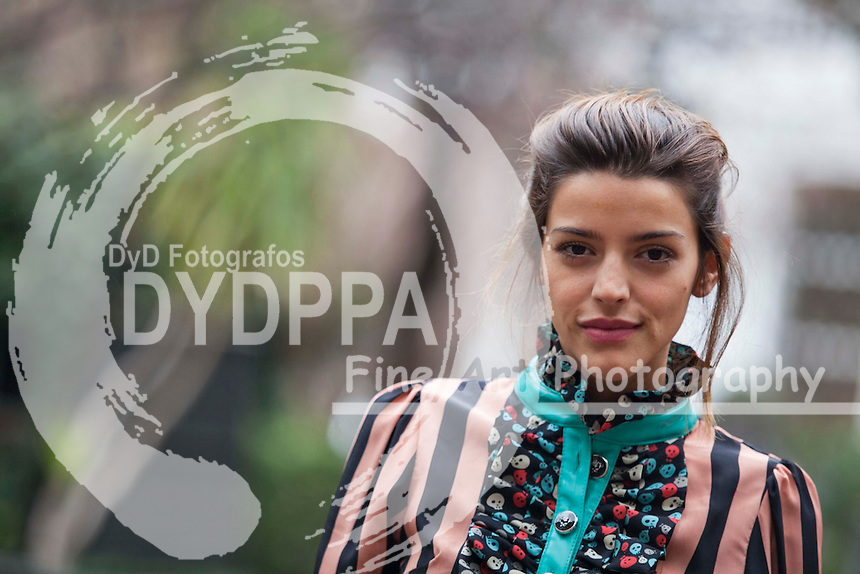 """The argentinian actress Calu Rivero poses to promote her new film """"Tesis sobre un homicidio"""" in Madrid on March 5, 2013. Photo by Nacho Lopez /DyD Fotografos-DYDPPA"""