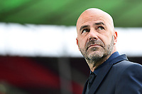 Trainer Peter Bosz (Bayer Leverkusen)<br />  - 04.07.2020, Fussball DFB Pokal Finale, Bayer 04 Leverkusen - FC Bayern Muenchen emspor, v.l. Innenansicht Olympiastadion<br /> <br /> Foto: Kevin Voigt/Jan Huebner/Pool/Marc Schueler/Sportpics.de<br /> <br /> (DFL/DFB REGULATIONS PROHIBIT ANY USE OF PHOTOGRAPHS as IMAGE SEQUENCES and/or QUASI-VIDEO - Editorial Use ONLY, National and International News Agencies OUT)