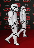 DEC 09 'Star Wars: The Last Jedi' film premiere in LA
