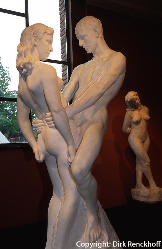 Norwegen, Oslo, Gustav Vigeland 1869-1943 im Vigeland-museet