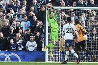 Rui Patricio of Wolverhampton Wanderers during Tottenham Hotspur vs Wolverhampton Wanderers, Premier League Football at Tottenham Hotspur Stadium on 1st March 2020