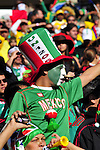 11 June 2010, A mexican fan celebrates  during the opening ceremony of the 2010 Fifia World Cup at Soccer City in Johannesburg South Africa. South Africa face Mexico in the opening game. Picture: Shayne Robinson