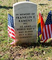 NOV 11 LGBT Veterans day memorial observation