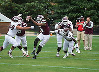 Super Bulldog Weekend Maroon &amp; White Game.<br /> (photo by Russ Houston / &copy; Mississippi State University)