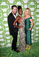 BEVERLY HILLS, CA - JANUARY 6: Kirby Howell-Baptiste, Sarah Goldberg, Guest, at the HBO Post 2019 Golden Globe Party at Circa 55 in Beverly Hills, California on January 6, 2019. <br /> CAP/MPI/FS<br /> ©FS/MPI/Capital Pictures
