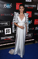 06 August 2017 - Las Vegas, NV - Masiela Lusha.  Sharknado 5 Global Swarming red carpet premiere at Linq Hotel and Casino. Photo Credit: MJT/AdMedia