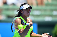 January 10, 2017: Destanee Aiava (AUS) in action against Sorana Cirstea (ROM) on day one of the 2017 Priceline Pharmacy Kooyong Classic tournament at the Kooyong Lawn Tennis Club in Melbourne, Australia. Cirstea won 61 76. Sydney Low/AsteriskImages