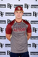 Alexander Maximus Briggs (1) of Canutillo High School in EL Paso, Texas during the Baseball Factory All-America Pre-Season Tournament, powered by Under Armour, on January 12, 2018 at Sloan Park Complex in Mesa, Arizona.  (Mike Janes/Four Seam Images)