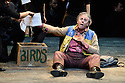 London, UK. 03.02.2016. Simon McBurney returns to ENO to direct the first revival of his production of Mozart's THE MAGIC FLUTE. Picture shows: Peter Coleman-Wright (Papageno). Photograph © Jane Hobson.