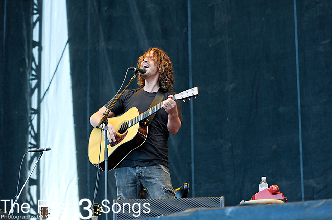 Chris Cornell performs during the Hangout Music Fest in Gulf Shores, Alabama on May 18, 2012.