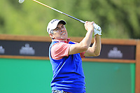 Adilson Da Silva (BRA) tees off the 16th tee during Thursday's Round 1 of the 2017 Omega European Masters held at Golf Club Crans-Sur-Sierre, Crans Montana, Switzerland. 7th September 2017.<br /> Picture: Eoin Clarke | Golffile<br /> <br /> <br /> All photos usage must carry mandatory copyright credit (&copy; Golffile | Eoin Clarke)
