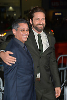 Gerard Butler &amp; Dean Devlin at the premiere for &quot;Geostorm&quot; at TCL Chinese Theatre, Hollywood. Los Angeles, USA 16 October  2017<br /> Picture: Paul Smith/Featureflash/SilverHub 0208 004 5359 sales@silverhubmedia.com