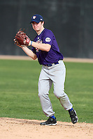 January 16, 2010:  Grant Leger (Metairie, LA) of the Baseball Factory South Team during the 2010 Under Armour Pre-Season All-America Tournament at Kino Sports Complex in Tucson, AZ.  Photo By Mike Janes/Four Seam Images