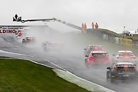 Round 8 of the 2018 British Touring Car Championship. Race three action.