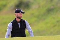 Bradley Bawden (Rochford Hundred) in a bunker on the 4th during Round 1 of the The Amateur Championship 2019 at The Island Golf Club, Co. Dublin on Monday 17th June 2019.<br /> Picture:  Thos Caffrey / Golffile<br /> <br /> All photo usage must carry mandatory copyright credit (© Golffile | Thos Caffrey)