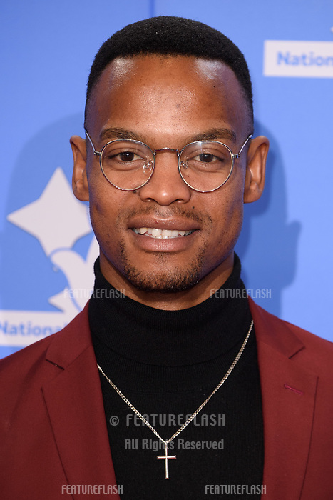 LONDON, UK. September 21, 2018: Johannes Radebe at the National Lottery Awards 2018 at the BBC Television Centre, London.<br /> Picture: Steve Vas/Featureflash