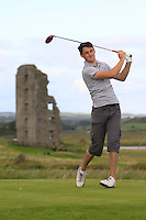 Stephen Kinch (Hollystown) on the 13th tee during Round 2 of The South of Ireland in Lahinch Golf Club on Sunday 27th July 2014.<br /> Picture:  Thos Caffrey / www.golffile.ie