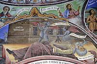 BG41206.JPG BULGARIA, RILA MONASTERY, CHURCH OF NATIVITY, frescoes