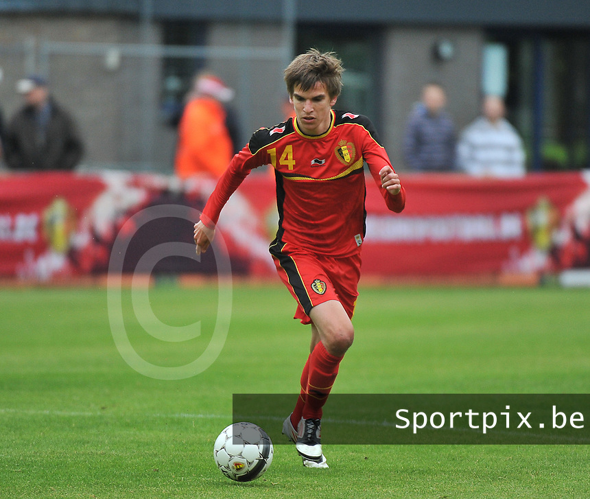 Georgia U19 - Belgium U19 : Cedric Buekers<br /> foto DAVID CATRY / Nikonpro.be