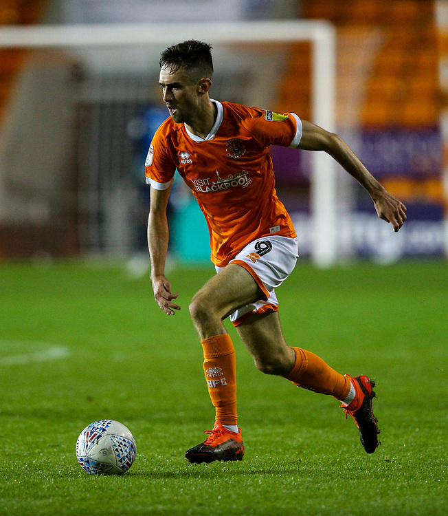 Blackpool's Ryan Hardie<br /> <br /> Photographer Alex Dodd/CameraSport<br /> <br /> EFL Leasing.com Trophy - Northern Section - Group G - Blackpool v Morecambe - Tuesday 3rd September 2019 - Bloomfield Road - Blackpool<br />  <br /> World Copyright © 2018 CameraSport. All rights reserved. 43 Linden Ave. Countesthorpe. Leicester. England. LE8 5PG - Tel: +44 (0) 116 277 4147 - admin@camerasport.com - www.camerasport.com