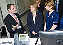 Daniel Beckett, Consultant Acute Physician NHS Forth Valley, shows Nicola Sturgeon MSP, Deputy First Minister and Cabinet Secretary for Health, Wellbeing and Cities Strategy, around Forth Valley Royal Hospital's Acute Assessment Unit.