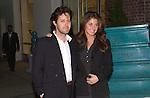 David Lauren and Dylan Lauren arrive at a benefit in Manhattan on October 17, 2001.