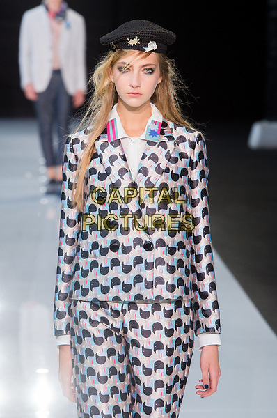 Emporio Armani<br /> fashion show at London Fashion Week<br /> Spring Summer 2018<br /> in London, England in September 2017.<br /> CAP/GOL<br /> &copy;GOL/Capital Pictures