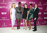 12 May 2018 - Los Angeles, California - Sarah Gadon, Danielle Brooks, Alison Brie, Regina King, Cindy Holland. Netflix FYESEE Rebels and Rule Breakers Event.   <br /> CAP/ADM/FS<br /> &copy;FS/ADM/Capital Pictures