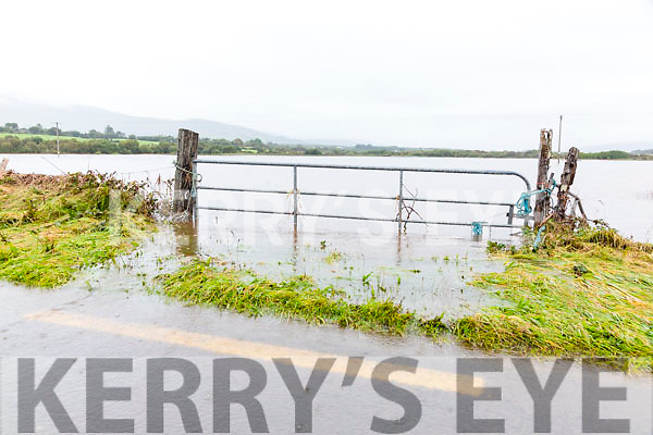 New lakes have formed on the both sides of the N70 Ring of Kerry road at the Inny Bridge where in the early hours of Tuesday morning just over four feet of water rushed over the road.