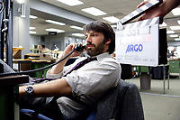 Argo (2012)<br /> Behind the scenes photo of Ben Affleck<br /> *Filmstill - Editorial Use Only*<br /> CAP/MFS<br /> Image supplied by Capital Pictures