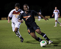 The Winthrop University Eagles lose 2-1 in a Big South contest against the Campbell University Camels.  Charles-Karin Hunte (15), Ben Iiames (13)