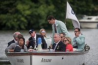 Henley Royal Regatta, Henley on Thames, Oxfordshire, 29 June-3 July 2015.  Thursday  18:37:10   30/06/2016  [Mandatory Credit/Intersport Images]<br /> <br /> Rowing, Henley Reach, Henley Royal Regatta.<br /> <br /> Richard PHELPS,  Umpire Launch