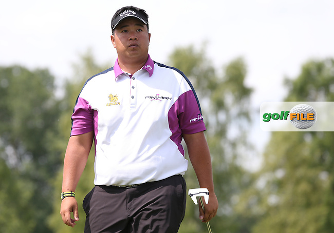Kiradech Aphibarnrat (THA) cards a 67 during Round One of the 2015 BMW International Open at Golfclub Munchen Eichenried, Eichenried, Munich, Germany. 25/06/2015. Picture David Lloyd | www.golffile.ie